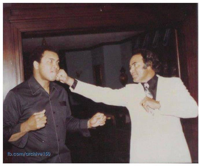 1980s:  Muhammad Ali and Sultan Rahi