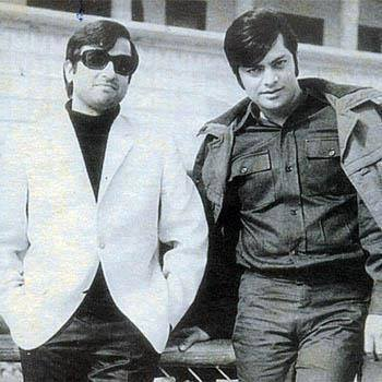 Pakistani Film Industry's Legends - Nadeem and Waheed Murad