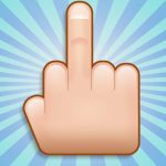 Using Middle Finger Emoticons could land you in court