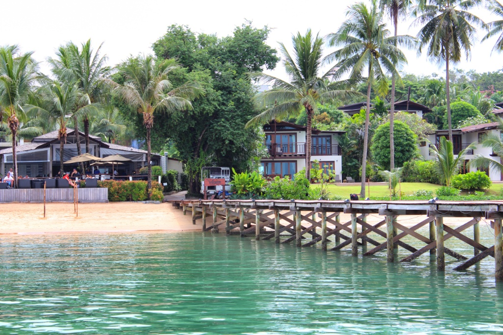Beachfront of The Village Coconut Island