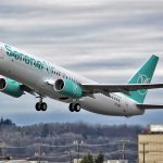 Serene Air Plane Makes Emergency Landing After Hitting Bird