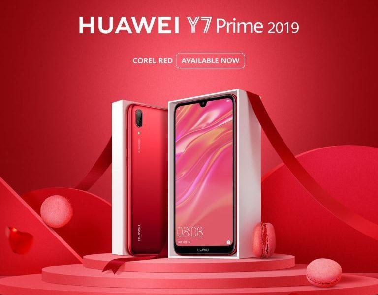 HUAWEI Y7 Prime 2019 (Coral Red)