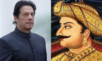 Imran Khan paid tribute to Tipu Sultan