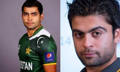 Ahmed Shehzad and Umar Akmal
